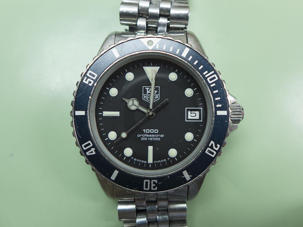 online store 2b547 c1f33 Tag Heuer 1000 | The Watch Bloke