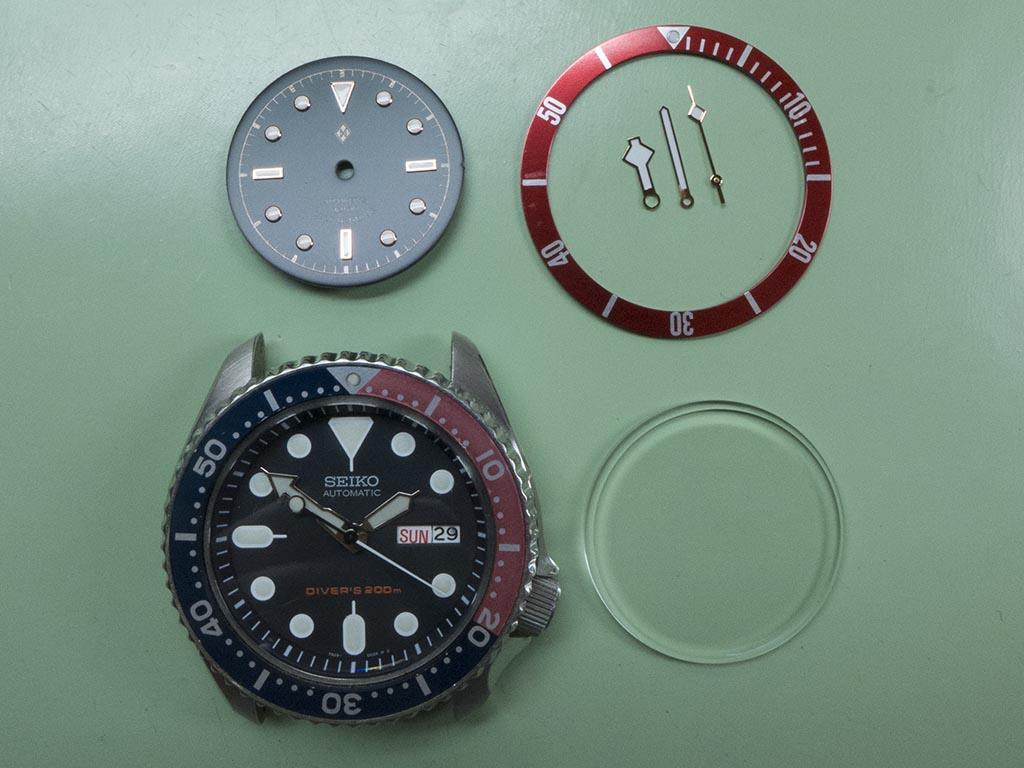 Seiko Black Bay mod | The Watch Bloke